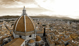 Santa Maria del Fiore in Florence Royalty Free Stock Photography
