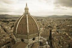 Santa Maria del Fiore in Florence royalty-vrije stock fotografie