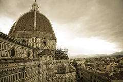 Santa Maria del Fiore Florence Cathedral of Firenze Royalty Free Stock Photo