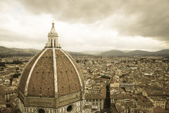 Santa Maria del Fiore Florence Cathedral of Firenze Stock Photo