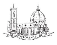 Santa Maria del Fiore, Florence Royalty Free Stock Photography
