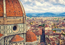 Santa Maria del Fiore Florence, Italien Royaltyfri Foto