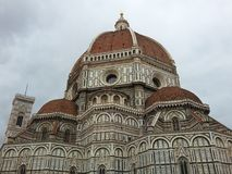 Santa Maria del Fiore in Florence. This is the mail church of Florence in Italy Stock Image