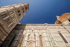 Santa Maria del Fiore, Florence, Tuscany, Italy. Dome and campanilla from Santa Maria del Fiore, Florence, Tuscany, Italy Stock Images