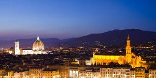 Santa Maria Del Fiore in Florenz stockfotos