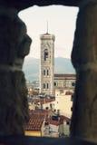 Santa Maria Del Fiore, Florenz Stockfotos