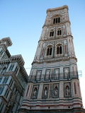 Santa maria del fiore. Gothic cathedral in beautiful Florence Stock Image