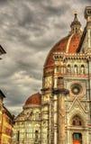 Santa Maria del Fiore, the main church of Florence Royalty Free Stock Photos