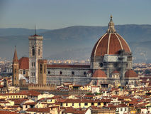 Santa Maria Del Fiore Panorama Hdr Stock Photo