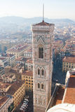 Santa Maria del Fiore tower Royalty Free Stock Photo