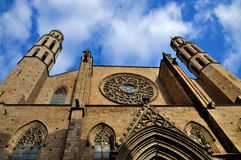 Santa Maria del Mar, Barcelona Stock Photo