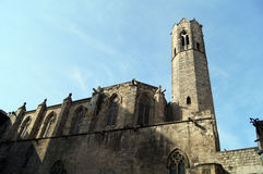 Santa maria del Mar in Barcelona Stock Photography
