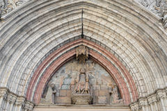 Santa Maria del Mar in Barcelona Royalty Free Stock Images