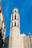 Santa Maria del Mar Barcelona Royalty Free Stock Photo