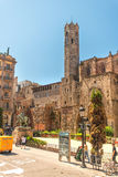 Santa Maria del Mar in Barcelona Spain Stock Photography