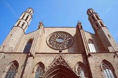 Santa Maria del Mar, Barcelona Stock Photography