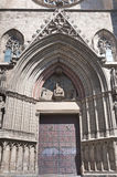 Santa Maria del Mar Cathedral at Barcelona, Spain Royalty Free Stock Photo