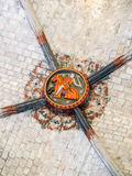 Santa Maria del Mar ceilings Stock Images