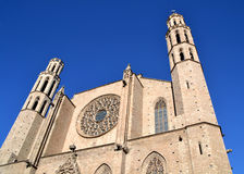 Santa Maria del Mar Church, Barcelona Royalty Free Stock Image