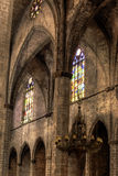Santa Maria del Mar Interior series Stock Photo