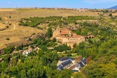 Santa Maria del Parral è un convento del Hieronymites Fotografia Stock Libera da Diritti