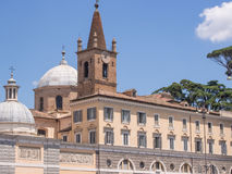 Santa Maria del Popolo Royalty Free Stock Photography