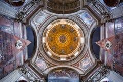 Santa Maria del Popolo church. Rome. Stock Images