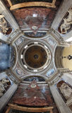Santa Maria del popolo dome, Rome Stock Image