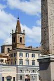 Santa Maria del Popolo a Roma Immagini Stock