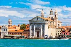 Santa Maria del Rosario i Venedig, Italia Royaltyfria Foton