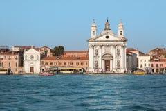 Santa Maria del Rosario oder Gesuati, Venedig Stockbilder