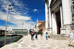 Santa Maria del Rosario in Venice Royalty Free Stock Photo