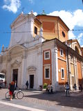 Santa Maria del Suffragio, Ravenna, Italy Royalty Free Stock Photography