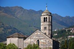 Santa Maria del Tiglio in Gravedona, Lake Como Stock Photos