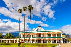Achitecture of Oaxaca Royalty Free Stock Photo