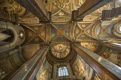 Santa Maria dell Anima church in Rome Royalty Free Stock Images
