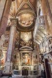 Santa Maria dell Anima church in Rome Stock Images