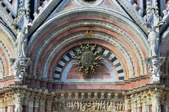 Santa Maria dell' assunta Cathedral Stock Photography
