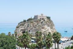 Santa Maria dell'Isola - Tropea, Calabria, Italy Stock Images
