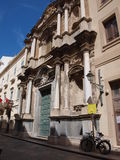 Santa Maria dell' Itria church, Trapani, Sicily, Italy Royalty Free Stock Image