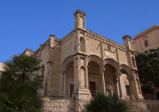Santa Maria della Catena bis Arkivfoton