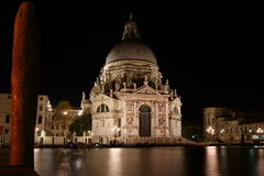 Santa Maria della Gruß Venedig Lizenzfreie Stockfotos