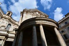 Santa Maria della Pace. Roma, Italy Stock Photography