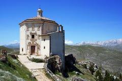 Santa Maria della Pietà Church sikt Royaltyfria Foton
