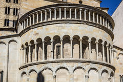 Apse of medieval church in Arezzo, Tuscany, Italy Royalty Free Stock Photography