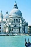 Santa Maria della salut w Wenecja, Włochy Obrazy Royalty Free