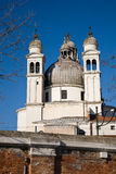 Santa Maria della Salute Basilica, Venezia, Italia Fotografia Stock