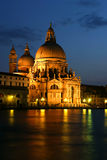 Santa Maria della Salute basilica in Venice. Royalty Free Stock Photography