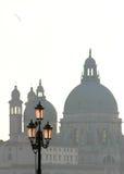 Santa Maria della Salute basilica. Venice, Italy. Stock Photos