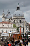 Santa Maria della Salute church in Venice Royalty Free Stock Photo